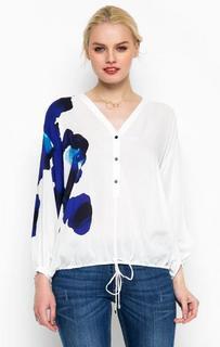 Свободная блуза с застежкой на пуговицы Trussardi Jeans