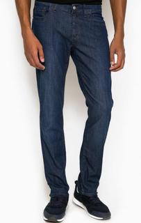 Зауженные синие джинсы Bikkembergs