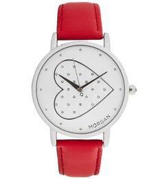 Часы с кожаным браслетом Morgan
