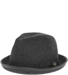 Шляпа серого цвета из шерсти Goorin Bros.