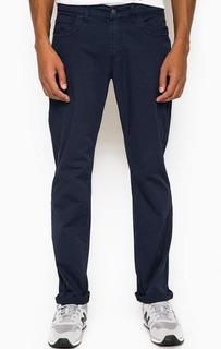 Синие брюки прямого кроя Bikkembergs