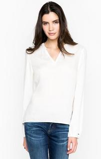 Блуза с треугольным вырезом Hilfiger Denim