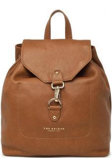 Кожаный рюкзак коричневого цвета THE Bridge