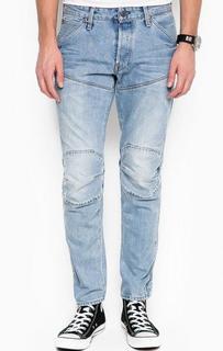 Зауженные голубые джинсы G Star RAW