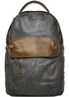 Вместительный рюкзак из натуральной кожи Alchimia