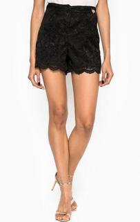 Кружевные черные шорты Relish