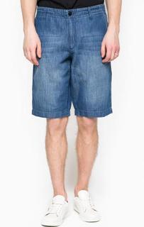 Синие джинсовые шорты 18 Crr81 Cerruti