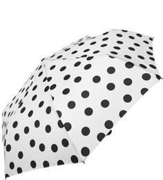 Белый зонт в горошек Doppler