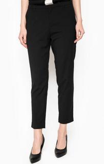 Укороченные черные брюки Maison Scotch