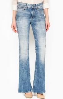 Синие джинсы расклешенного кроя G Star RAW