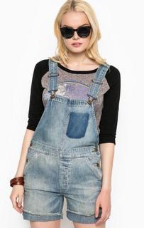 Короткий джинсовый комбинезон D&S Ralph Lauren