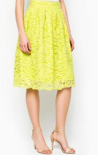 Кружевная юбка салатового цвета Marciano Guess