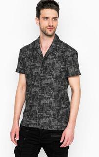 Хлопковая рубашка на пуговицах Drykorn