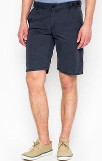 Синие хлопковые шорты Strellson