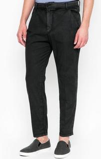 Серые брюки на резинке Drykorn