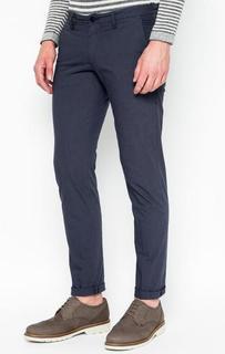 Хлопковые зауженные брюки Drykorn