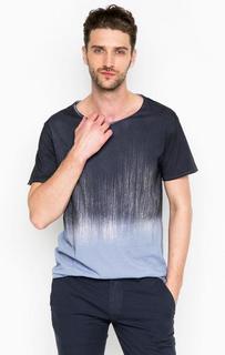Хлопковая футболка с короткими рукавами Drykorn