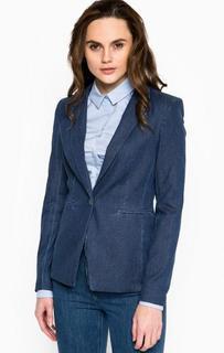 Синий пиджак с застежкой на пуговицу Drykorn