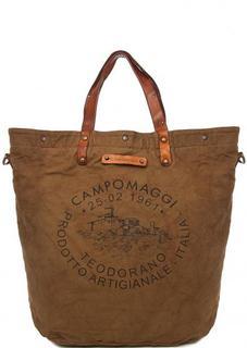 Вместительная текстильная сумка Campomaggi