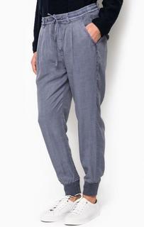 Синие брюки с манжетами Marc Opolo