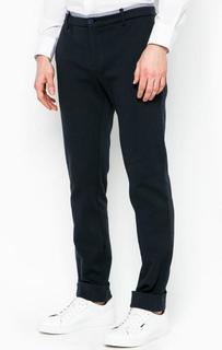 Хлопковые зауженные брюки Bikkembergs