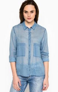 Рубашка прямого кроя на пуговицах Drykorn