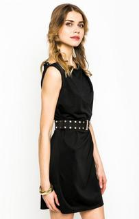 Короткое черное платье с ремнем Marciano Guess