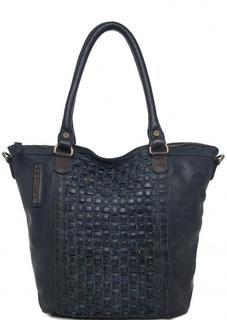 Вместительная кожаная сумка Taschendieb