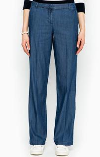 Широкие синие брюки More & More