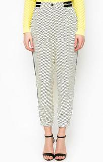 Укороченные серые брюки Relish