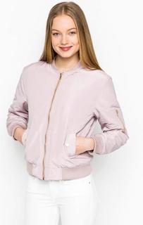 Розовая куртка с эластичными вставками Glamorous