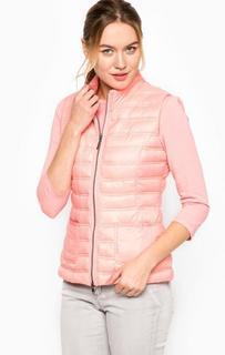 Розовый жилет на молнии More & More