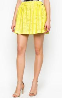 Короткая желтая юбка Relish
