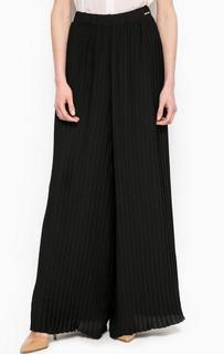 Широкие брюки черного цвета Maison Espin