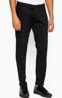 Черные хлопковые брюки Liu Jo Uomo