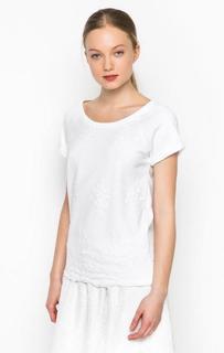Белая футболка с короткими рукавами River Woods