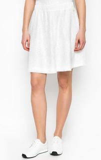 Короткая белая юбка River Woods