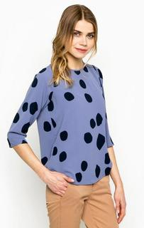 Блуза в горошек с рукавами 3/4 Ichi