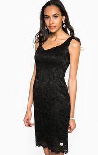 Черное платье средней длины Relish