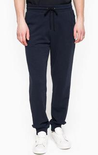 Хлопковые брюки на резинке с манжетами 18 Crr81 Cerruti
