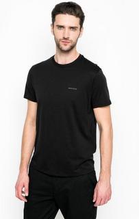 Черная футболка из хлопка Armani Jeans