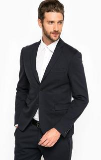 Темно-синий пиджак из вискозы Marciano Guess