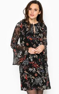 Платье с расклешенными рукавами More & More