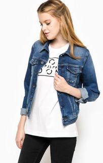 Джинсовая куртка синего цвета Pepe Jeans