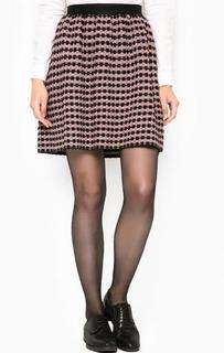 Короткая юбка на резинке Liu Jo