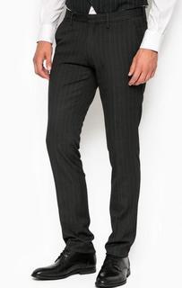 Зауженные трикотажные брюки в полоску Marciano Guess