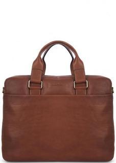 Кожаная сумка с двумя отделами Gianni Conti