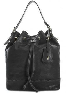 Кожаная сумка со съемным плечевым ремнем Gianni Conti