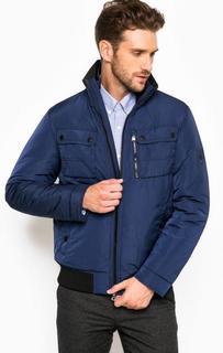 Темно-синяя куртка с наполнителем Tommy Hilfiger