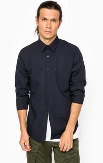 Классическая хлопковая рубашка с длинным рукавом G Star RAW